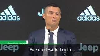Cristiano habló de la rivalidad con Messi