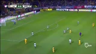 El gol de Ismael Sosa frente a Santos