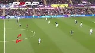 Gol de Lamela ante Swansea por la FA Cup