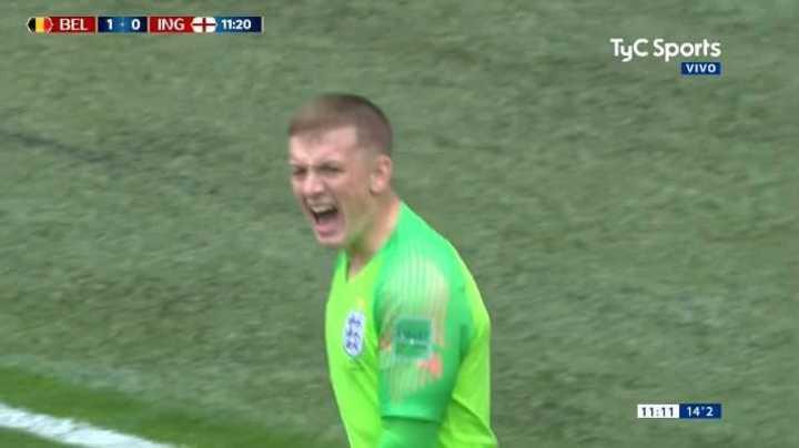 Pickford se lo sacó a Hazard