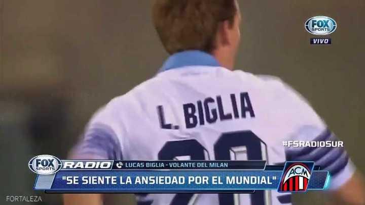 Biglia habló de la Selección y el próximo Mundial
