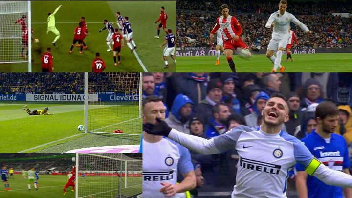 Lo mejor del fútbol intenacional