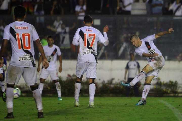 Los goles de Vasco, próximo rival de Racing