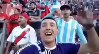 El video del hincha de River del que se ríen los de Boca