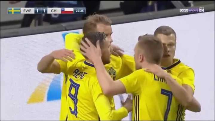 Toivonen marcó el segundo para Suecia