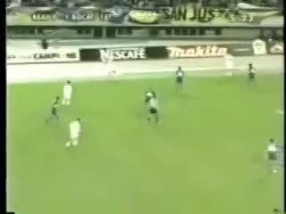 Pase de Román, gol de Martín