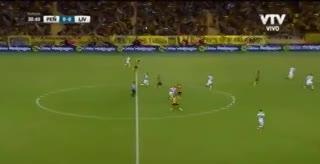 El golazo de Maxi Rodríguez a Liverpool