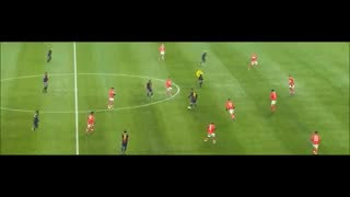 El primer gol de Messi ante Spartak, en 2012.