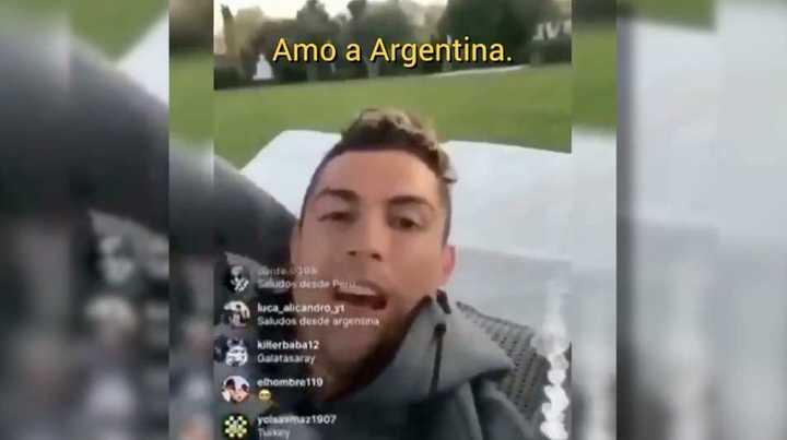 Ronaldo te ama
