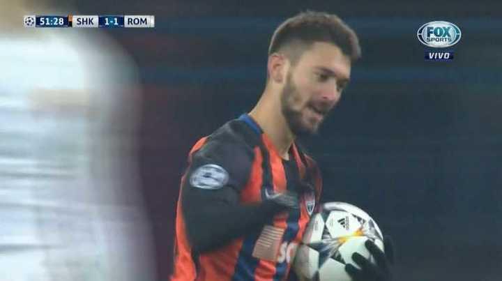 El Shakhtar lo empató con gol de Ferreyra