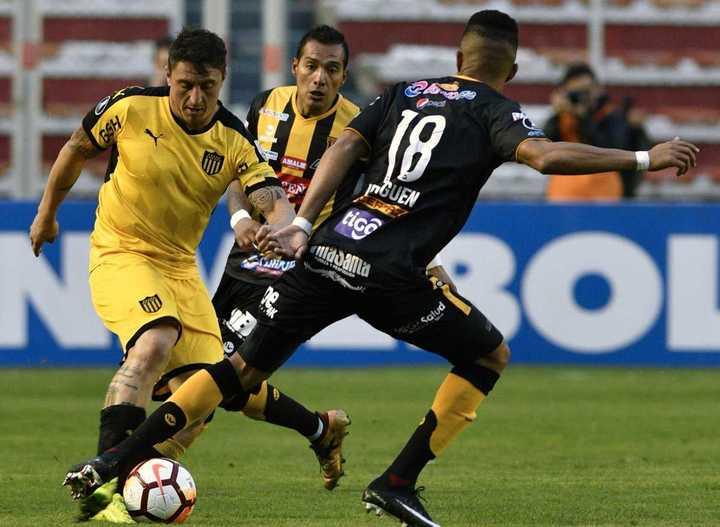The Strongest le ganó 1-0 en La Paz a Peñarol