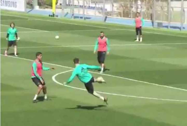 El golazo de Cristiano Ronaldo