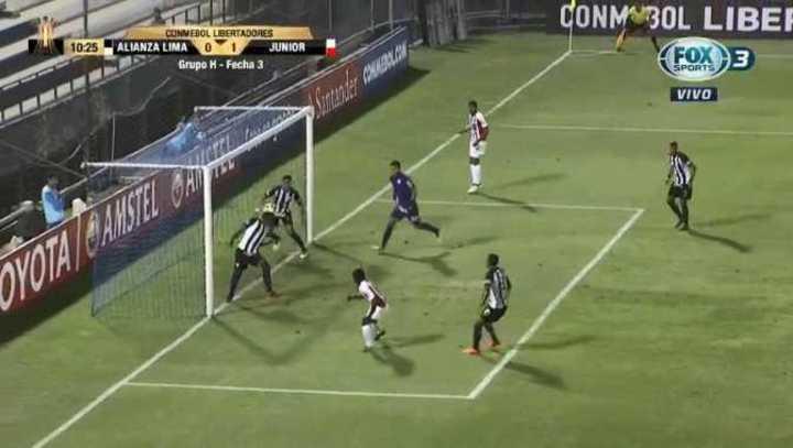 El 1 a 0 de Junior ante Alianza Lima