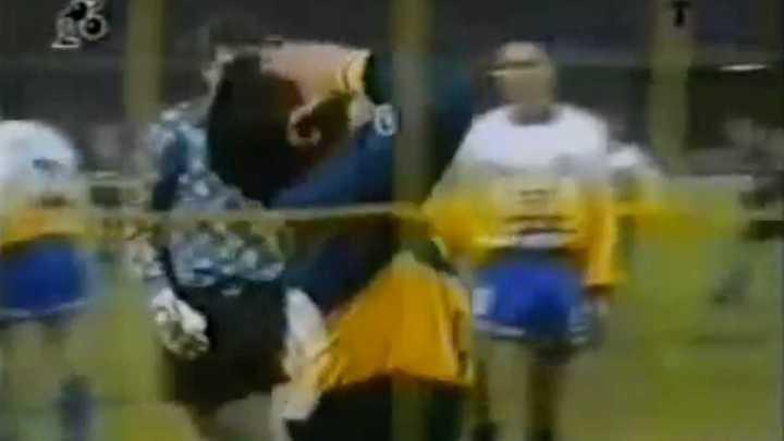 Los 5 penales al hilo que erró Maradona