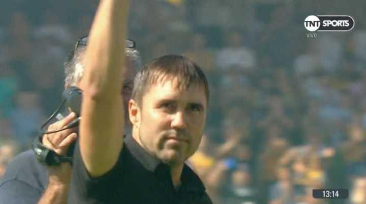 Coudet fue ovacionado en la previa