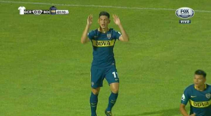 Espinoza reventó el palo