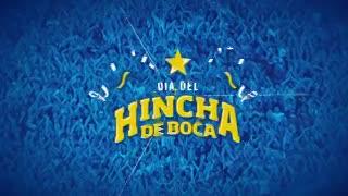 El saludo de los jugadores por el Día del Hincha de Boca