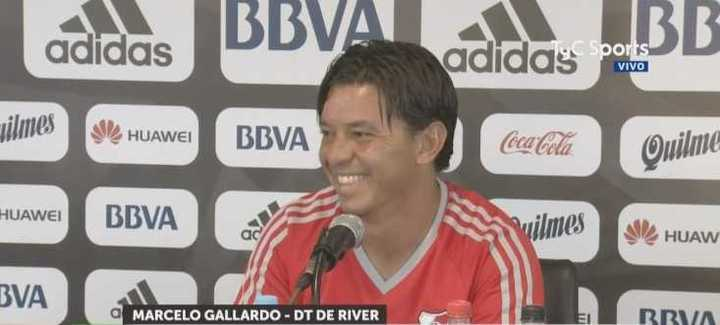 Marcelo bromeó con un periodista