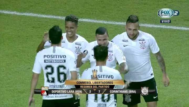 MIrá el resumen del Lara vs Corinthians