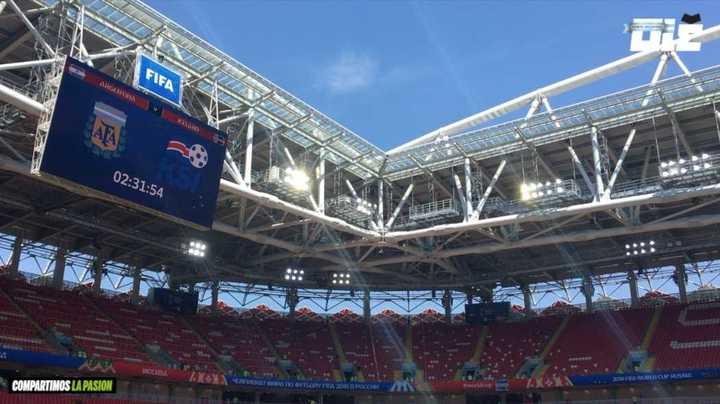 El imponente estadio donde va a jugar la Selección