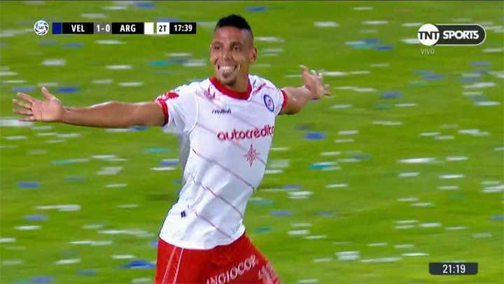 Sandoval logró el empate
