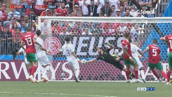 Otra vez Rui Patricio evitando el empate
