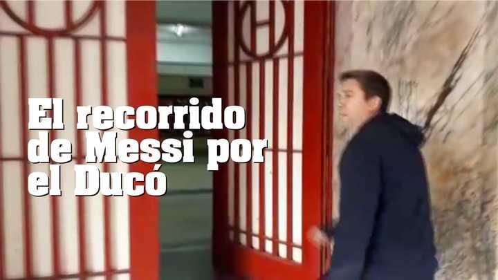 El recorrido de Messi por el Ducó