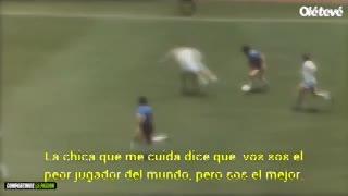 El mensaje del nene de 5 años que le habló a Diego