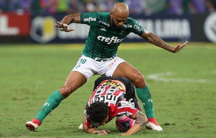 Palmeiras le ganó en casa a San Pablo el clásico por 2 a 0