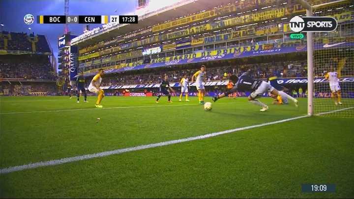Ledesma le sacó el gol a Cardona