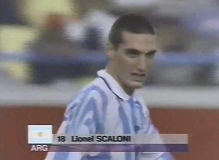 El golazo de Scaloni contra Brasil