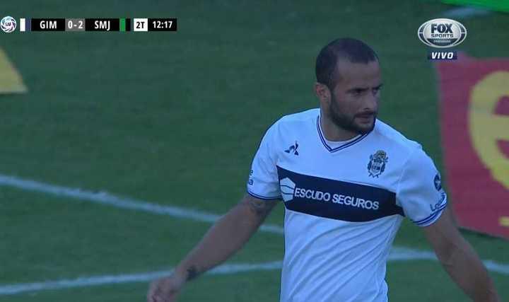 Guevgeozián, en contra, marcó el 2 a 0