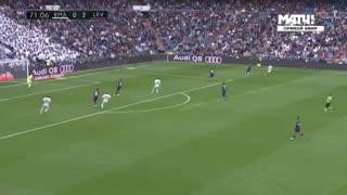 Marcelo descontó para el Madrid y rompió una racha diabólica ante Levante