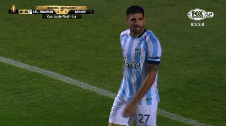Díaz llegó para Atlético
