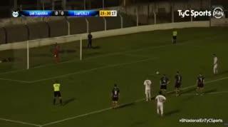 El 1-0 de Temperley a Santamarina