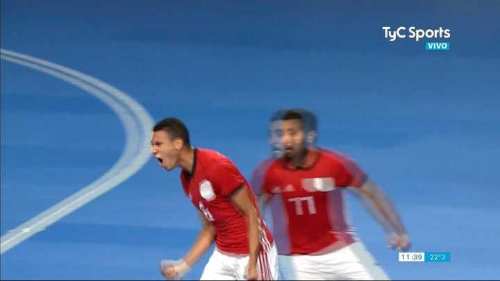 Egipto se lo dio vuelta a la Argentina en un partido sorpresivo