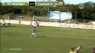 El 3-2 de Lamadrid a Victoriano Arenas