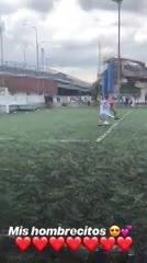 Cristiano Jr. hizo un gol para la Juve