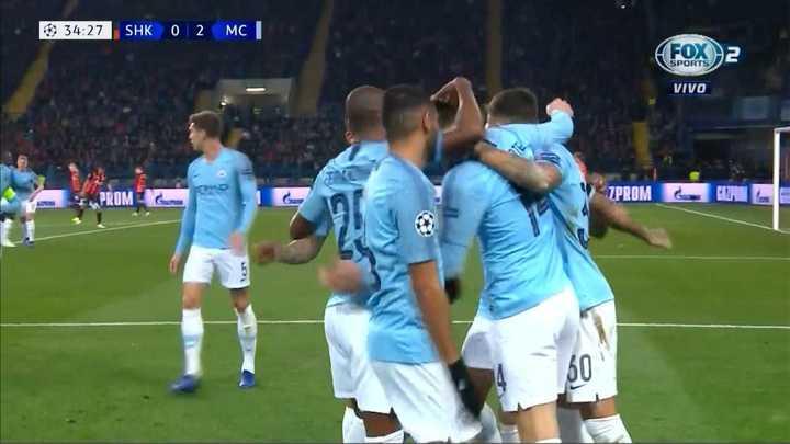 El City marcó el 2 a 0
