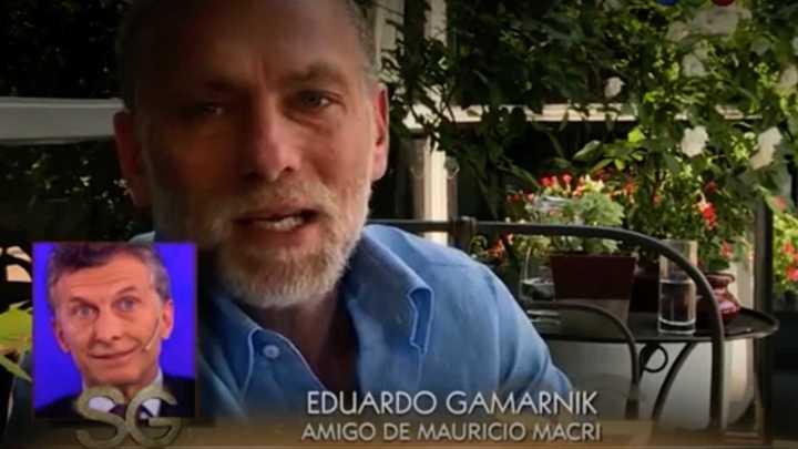 El día que Gamarnik le agradecía a Macri por su apoyo