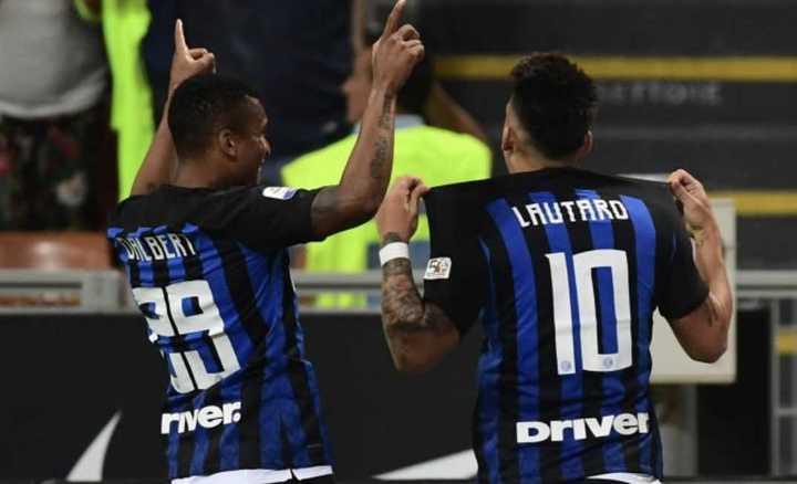 Lautaro Martínez convirtió el primero en el Inter