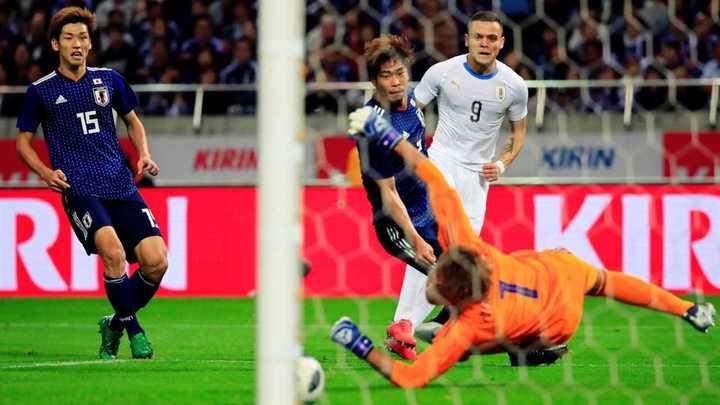 Todos los goles de Japón vs. Uruguay
