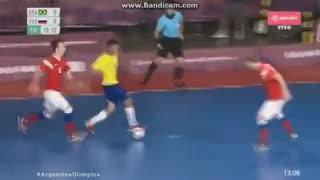 Insólito gol en contra de un chico ruso en la final de futsal