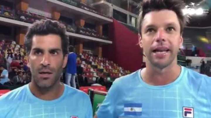 Zeballos y Machi González hablaron tras el triunfo ante Colombia