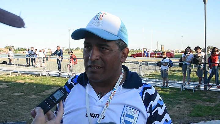 Osorio, el futuro del lanzamiento de jabalina