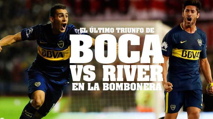 El último que Boca le ganó de local a River