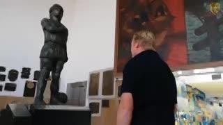 El DT de Holanda en la Bombonera