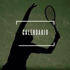 El calendario de Del Potro