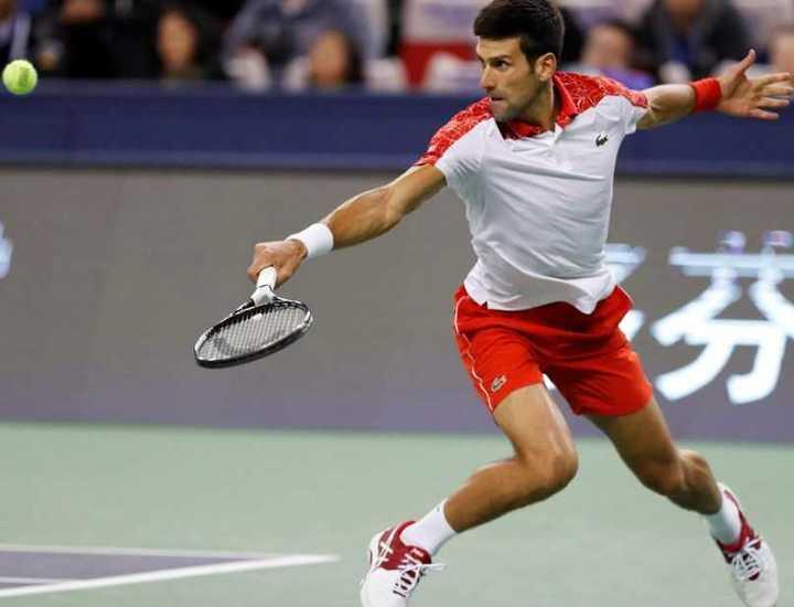 El punto definitivo (con Ojo de Halcón) que le dio el título a Djokovic en Shanghai