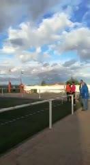 Gol olímpico de un arquero en España